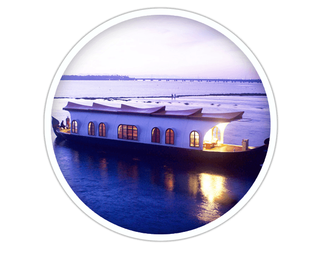 2 NIGHTS kerala houseboat packages